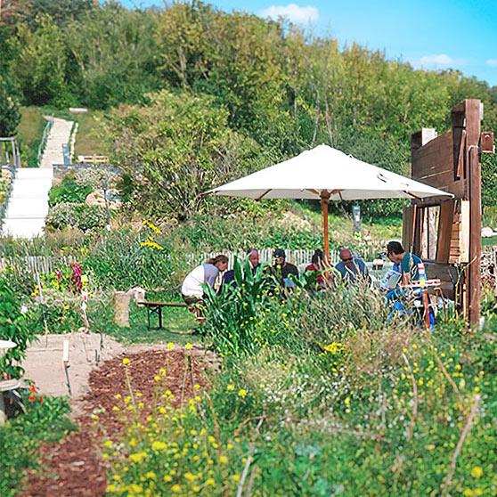 Fortbildung von Johanna Lochner im Umweltbildungszentrum Kienbergpark