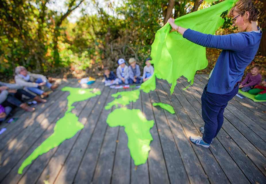 Globales Outdoor Lernen mit Johanna Lochner