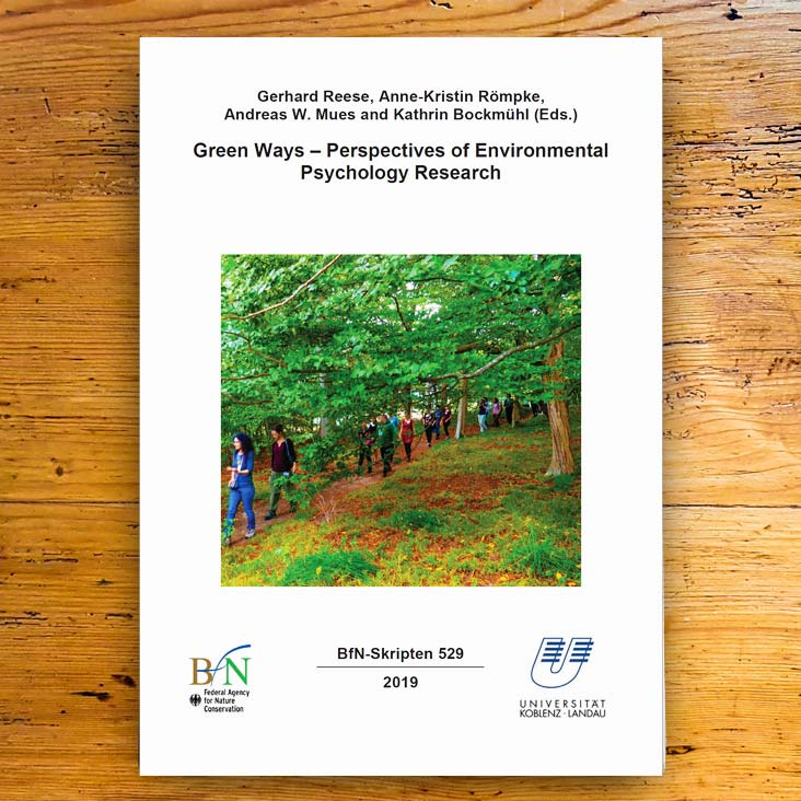 Green Ways - Perspectives of Environmental Psychology Research Johanna Lochner